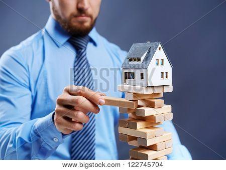 House in danger