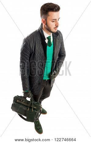 Stylish Business Man Matching Colours