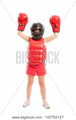 Young And Cute Boxer Girl Winner