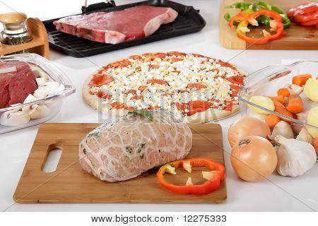Diversity Display Meals