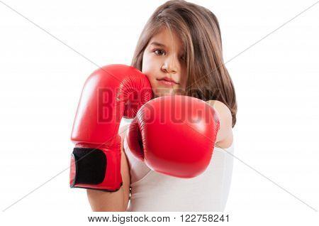 Adorable Boxer Girl