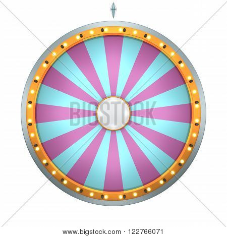 Wheel Fortune 24 Area Pink Color