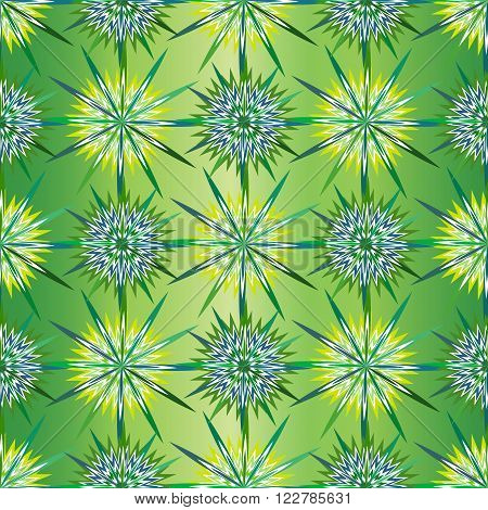 Seamless background, vector pattern. Cushion, pillow, bandanna, silk kerchief or shawl fabric print. Texture for clothes and bedclothes.