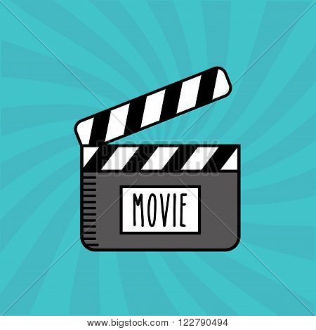 movie entertainment design, vector illustration eps10 graphic