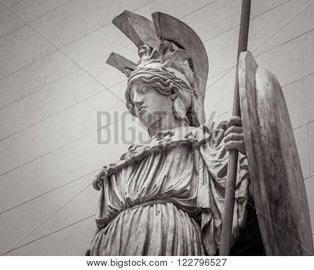 Athena Greek goddess of wisdom and science
