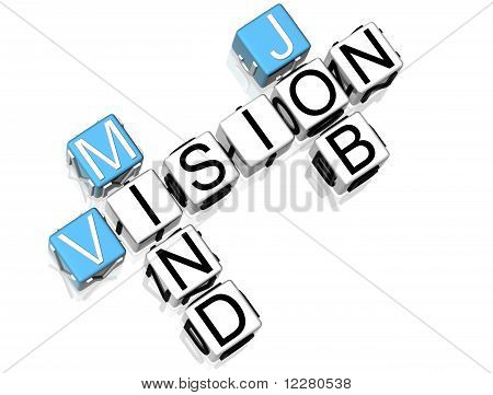 Job Mind Vision Crossword