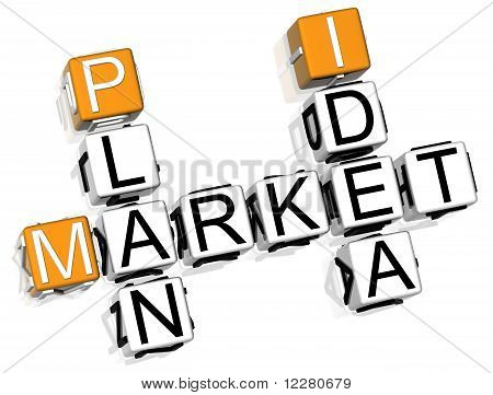 Market Plan Idea Crossword