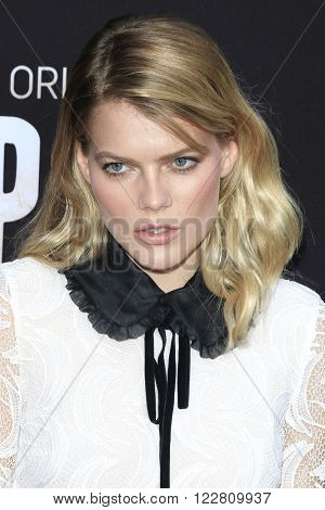 LOS ANGELES - MAR 21: Emma Greenwell at the Premiere of 'The Path' at Arclight Hollywood on March 21, 2016 in Los Angeles, California