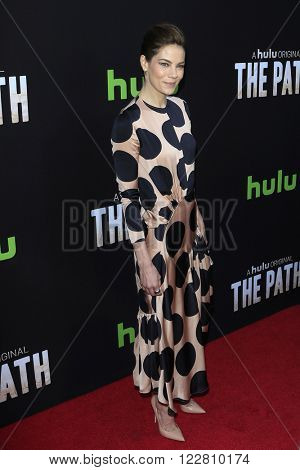 LOS ANGELES - MAR 21: Michelle Monaghan at the Premiere of 'The Path' at Arclight Hollywood on March 21, 2016 in Los Angeles, California