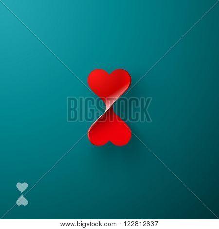Heart squeeze symbol