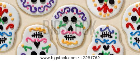 Day of the Dead cookies wallpaper