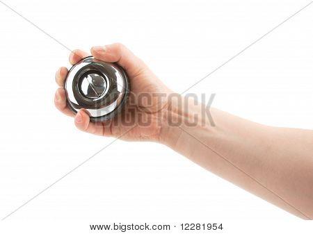 Giroscópio de mão