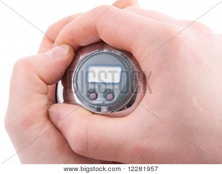 Gyroscope In Hands