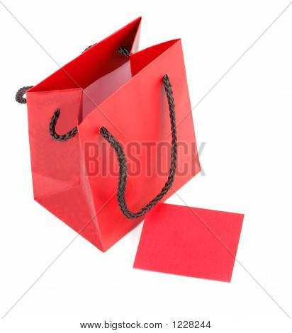 Red Bag And Card