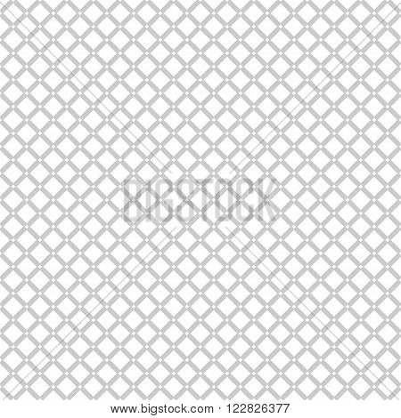 Seamless pattern white background, wallpaper with repetition geometric shape. Vector illustration of interlacing, fabric texture