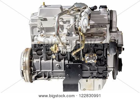 Car fuel engine isolated on white background