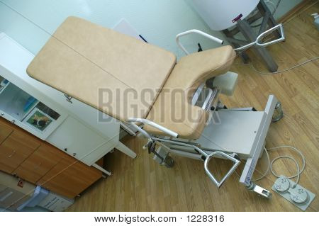 The Equipement Of Gynecologist Room