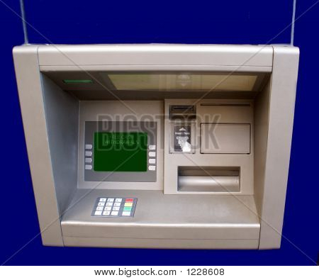 Cash Machine.Cash Point. Hole In The Wall