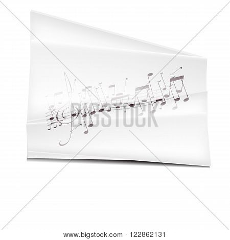 vector musik illustration symbol culture  isolated, musical.