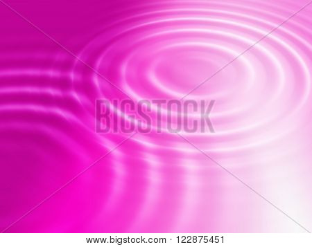 Abstract bright color background with round concentric ripples
