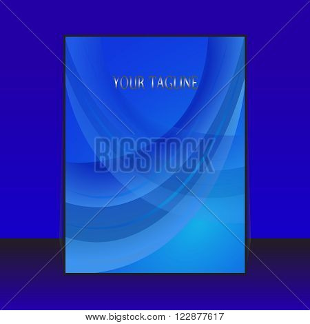 abstract flyer, brochure, catalog cover design,press, print, publication, publishing, roll, sheet, stand,