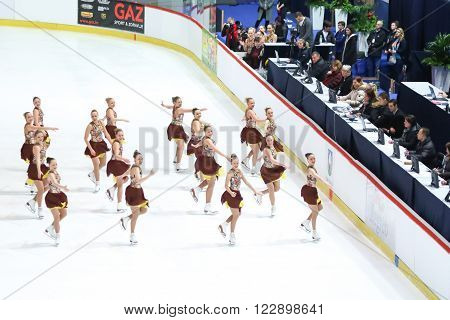 Team Finland Two With Judges