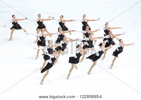 Team Russia One Perform
