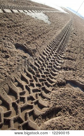 Marks On Sand