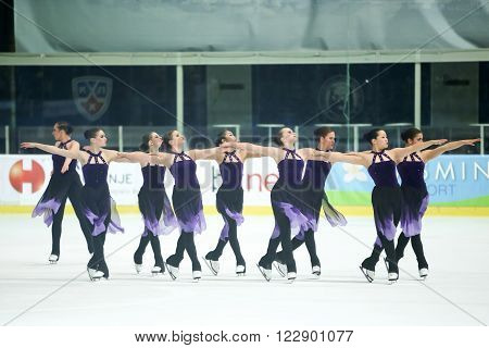 Team Canada Two Perform
