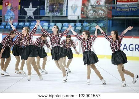 Team Croatia Performing