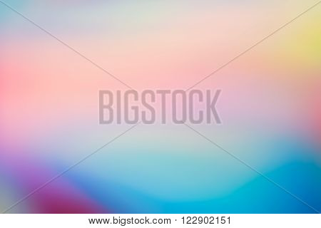 Smudged Pastel Colours Blurry Background, Soft Vivid Tones