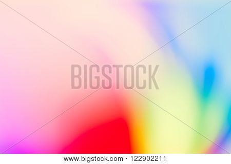 Sweet Light Leaks, Colourful Defocused Smudged Background