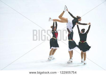 Team Cool Dreams Senior Perform