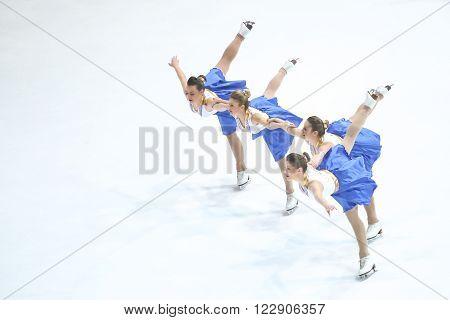 Team Zagreb Snowflakes Senior Pirouette