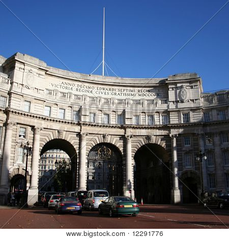 Admiralty Arch on the Mall, London, England
