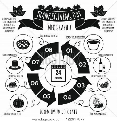 Thanksgiving Day infographic. Thanksgiving Day infographic art. Thanksgiving Day infographic web. Thanksgiving Day infographic new. Thanksgiving Day infographic www. Thanksgiving Day infographic app