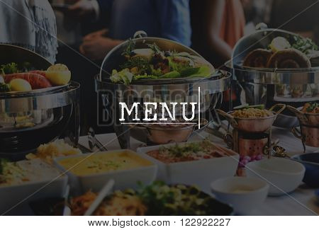 Asian Food Cuisine People Friends Concept