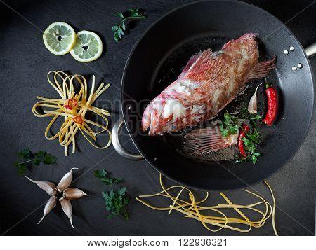 Cooking Scorpionfish