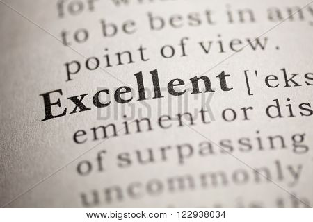 Fake Dictionary Dictionary definition of the word Excellent           Save  Download Preview     Fake Dictionary Dictionary definition of the word Excellent
