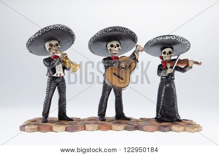 A Day of the Dead mariachi band