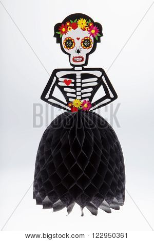 A centerpiece for the Day of the Dead holiday