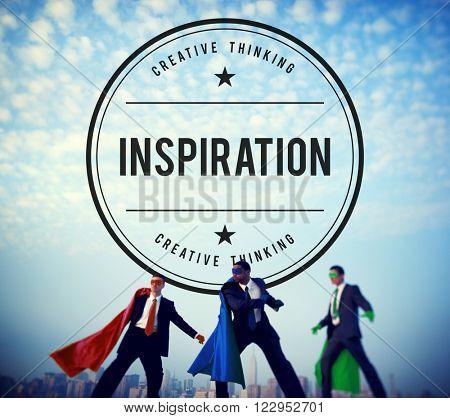 Inspire Inspiring Inspiration Motivate Innovate Concept