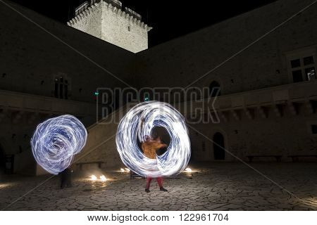 Fire Dance In Diosgyor