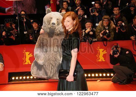 Marleen Lohse  attends the closing ceremony of the 66th Berlinale International Film Festival on February 20, 2016 in Berlin, Germany.