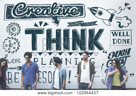 Think Thinking Planning Strategy Creative Concept