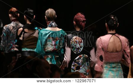 Bashaques Catwalk In Mercedes-benz Fashion Week Istanbul