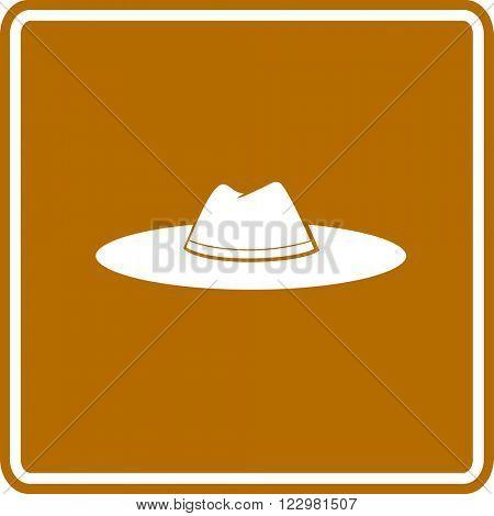 hat sign