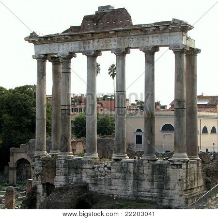 Temple of Saturn - Rome