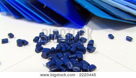 Masterbatch azul