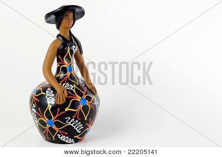 Bibelot de mujer brasileña